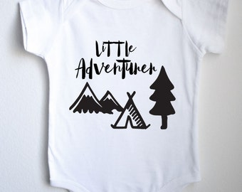Little Adventurer Baby 1sie One-piece Bodysuit