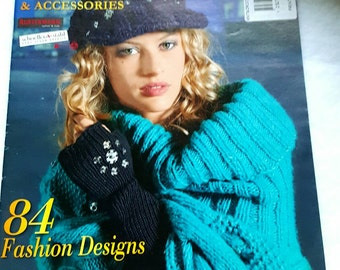 2012 Hats & Accessories Imported European Knitting Pattern Magazine Euro Designs