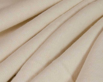 Pre-Activated ECO Hemp Fleece Fabric (Natural, sold by the yard)