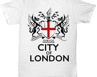 City Of London Crest - Domine Dirige Nos  V3