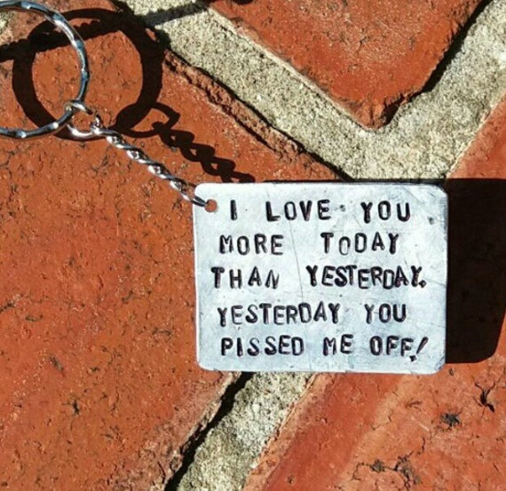 I Love You More Today Than Yesterday: Items Similar To I Love You More Today Than Yesterday