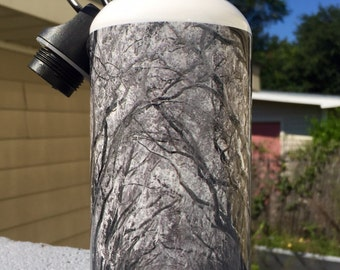 "Aluminum Water Bottle ""Evergreen"""