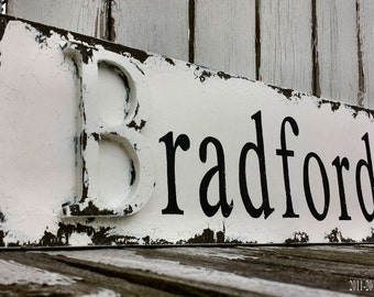 CUSTOM SIGN, Shabby Chic Sign, Wedding Sign, Wedding Sign, Wooden Letter, Name Sign, Personalized Sign, FAMILY Name Sign, Distressed Sign