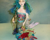 Mermaid pincushion e-pattern