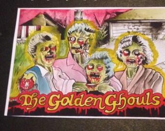 Golden Ghouls VINYL STICKER
