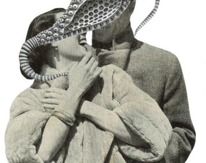 Surreal Romance Art, Weird Love Artwork, Mating Ritual