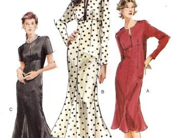 Vogue 7821 Empire Waist Dress w/ Godets at Lower Hem ©2003