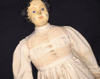 Vintage Reproduction Old Time Doll