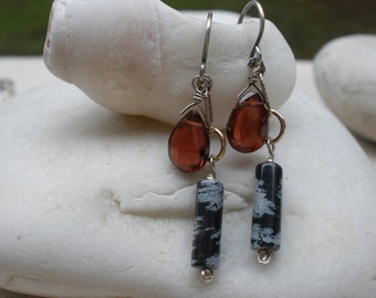Sunset to Night Earrings