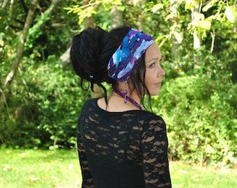 Boho headband - Dreadband - Headband Hippie Headband - Womens headband - Dread wrap - Dreadlock Headband - Festival Hair Wrap - Eco Friendly