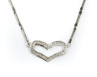 CLEARANCE: Silver Heart Circlet
