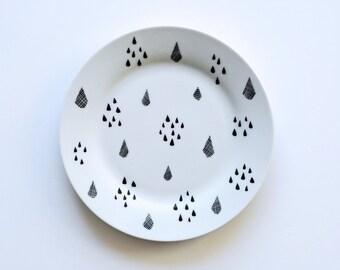 Drops breakfast plate