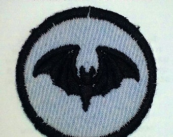 Bat Iron On Patch / Merit Badge