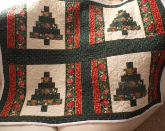 Christmas Quilt Table or Wall