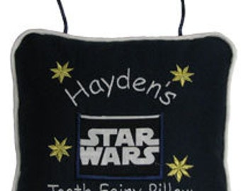 Tooth Fairy Pillow - Personalized - Star Wars