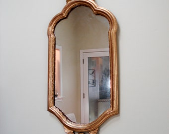 Gold framed mirror - beautiful and elegant