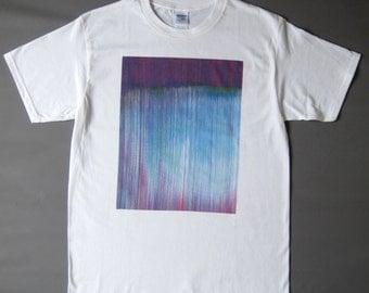 Glitch Shirt (blue print)