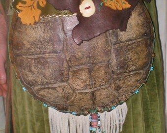 Snapping Turtle Shell Convertable Pouch
