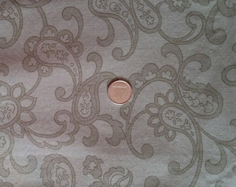GN007 ~ Green fabric Paisley fabric Soft green Christmas projects Cotton