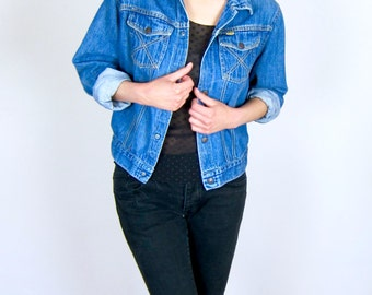 Perfect Vintage Denim 1970's  Jacket