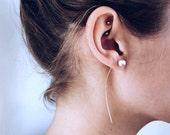 Pearl Scythe Earrings