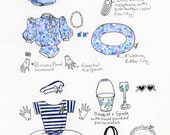Hyacinth Bucket Style Guide 6x8inch print