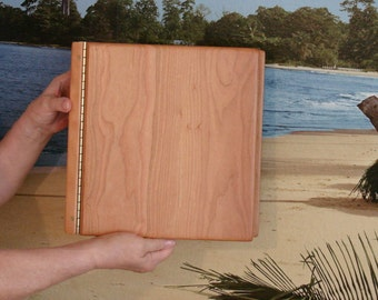 """Albums, Photo, Memory, Scrapbook, Wood, 8-1/2"""" x 11"""", Engraved, Personalized Engraving"""