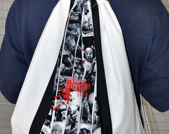 The Walking Dead Drawstring Backpack