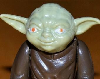 vintage Star Wars Yoda action figure kenner 1980 toy