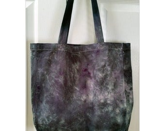 Tie-dyed Texture Canvas Tote Bag