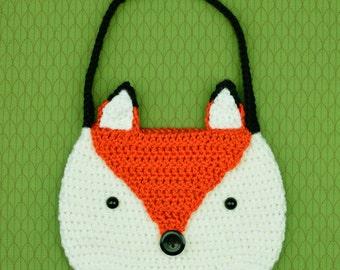 Fox Purse - PDF Crochet Pattern - Instant Download