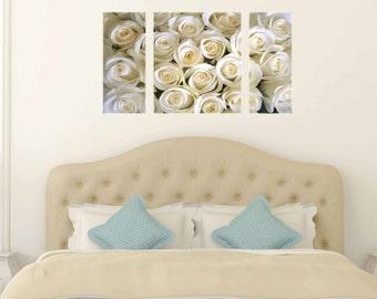 Canvas Prints - Flower Prints Pictures - Floral Prints On Canvas - Flower Prints Wall Art - Framed Ready to Hang - Floral Prints Wall Art