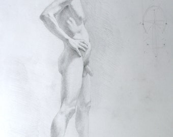 Figure Drawing - original   (FD 83)