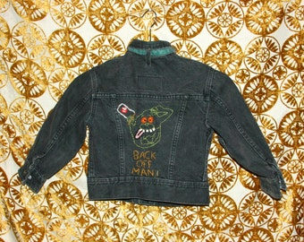 Ghostbusters Embroidered Jacket / Boys Denim Jacket / Lee Jacket