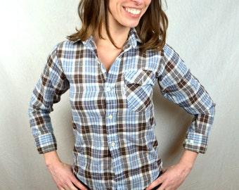 Vintage 80s Levis Button Up Shirt - Medium