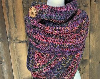 Mountain Girl Crochet Wrap / KATNISS / Andromeda