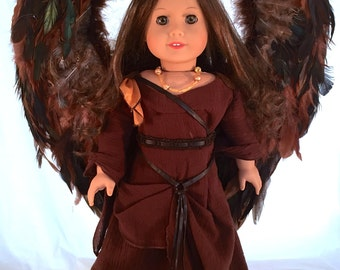 American Girl Doll Transformed into Maleficent like Doll