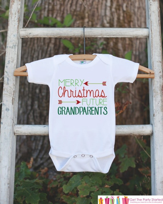 christmas pregnancy reveal merry christmas future grandparents