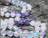 Rose Quartz Mala, Amethyst Mala, Iolite Mala, Prayer Beads, Purple Mala