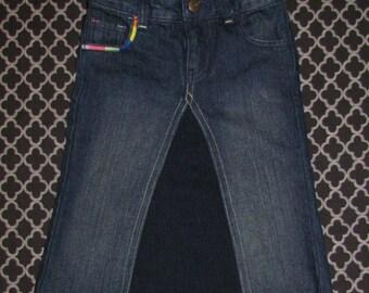 Girls Jean Skirt - 5