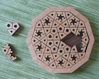 DecaStar Wooden Puzzle