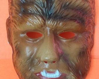 Vintage Wolfman Mask