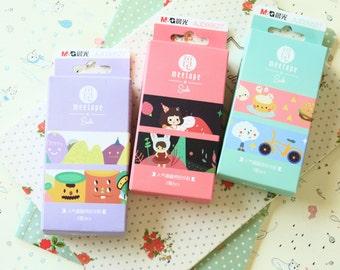 Meetape Soda cartoon Washi Masking Tape 2pc set