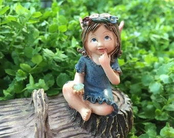 Fairy, Gnome, Figurines