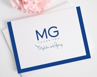 Thank You Cards - Modern Luxe Design