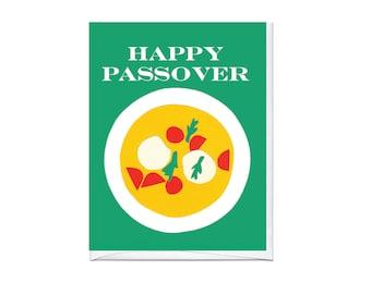 Matzo Ball Soup Passover Card