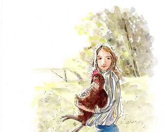 Country Kid Limited Edition Giclee Print