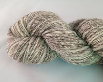 238 yards of worsted weight handspun yarn - Au Natural
