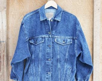Retro Levi's Medium Denim Jacket - Made in USA