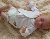 Reborn baby micro preemie girl  fairy baby -doll 10 inches long Zodi by Marita Winters